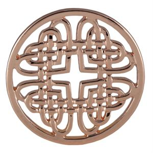 Picture of Large Rose Gold Celtic Knot Screen
