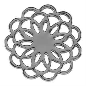 Picture of Large Silver Flower Screen
